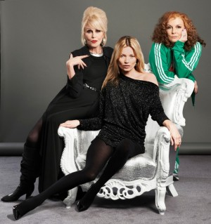 Absolutely Fabulous wallpaper containing a hip boot and tights titled Ab. Fab. 2012 <3