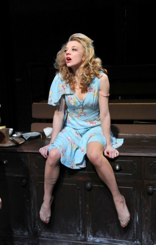 natalie dormer fondo de pantalla possibly containing a park bench called After Miss Julie (2012) > Production Stills