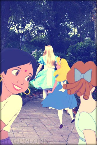 Alice from disney World.
