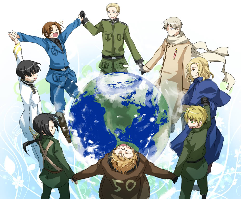 Anime Wallpapers Hetalia: Axis Powers HD 4K Download For Mobile iPhone & PC