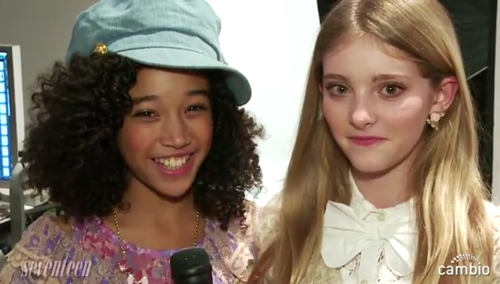 Amandla Stenberg and Willow Sheilds