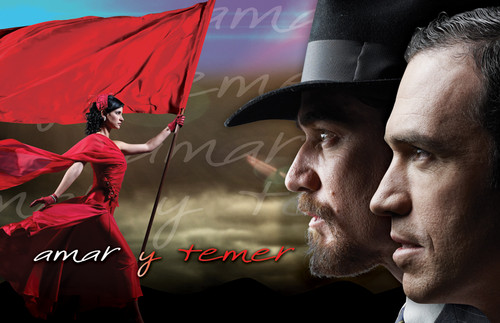 TELENOVELAS wallpaper possibly containing a business suit titled Amar y Temer