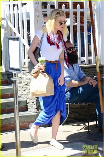Amber Heard: Coffee Run at Urth Caffe
