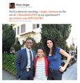 Angie and Lee meeting a fan - rizzoli-and-isles photo