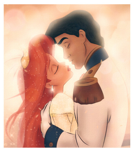 La Sirenetta wallpaper titled Ariel and Eric