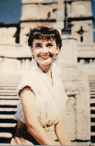 Roman Holiday images Audrey in Color wallpaper and ...