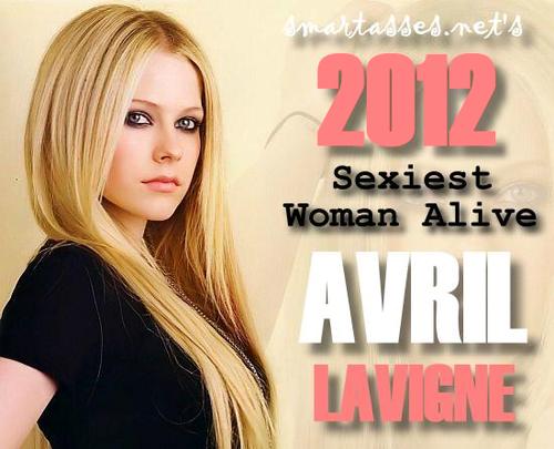 Avril Lavigne - Smartasses.Net's 2012 Sexiest Woman Alive