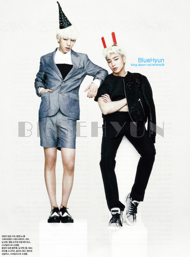 B.A.P Elle Girl Photoshoot