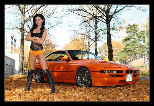 BMW wallpaper called BMW & GIRL