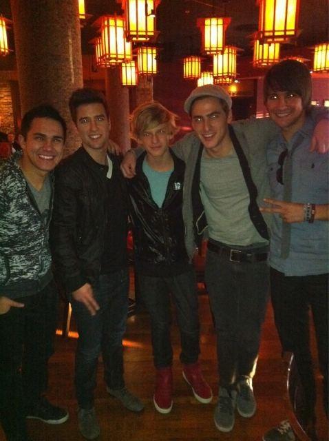 BTR and Cody Simpson!!!!!!