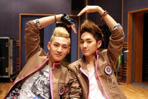 Baekho and Aron!