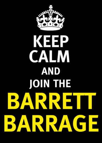 Barrett Barrage