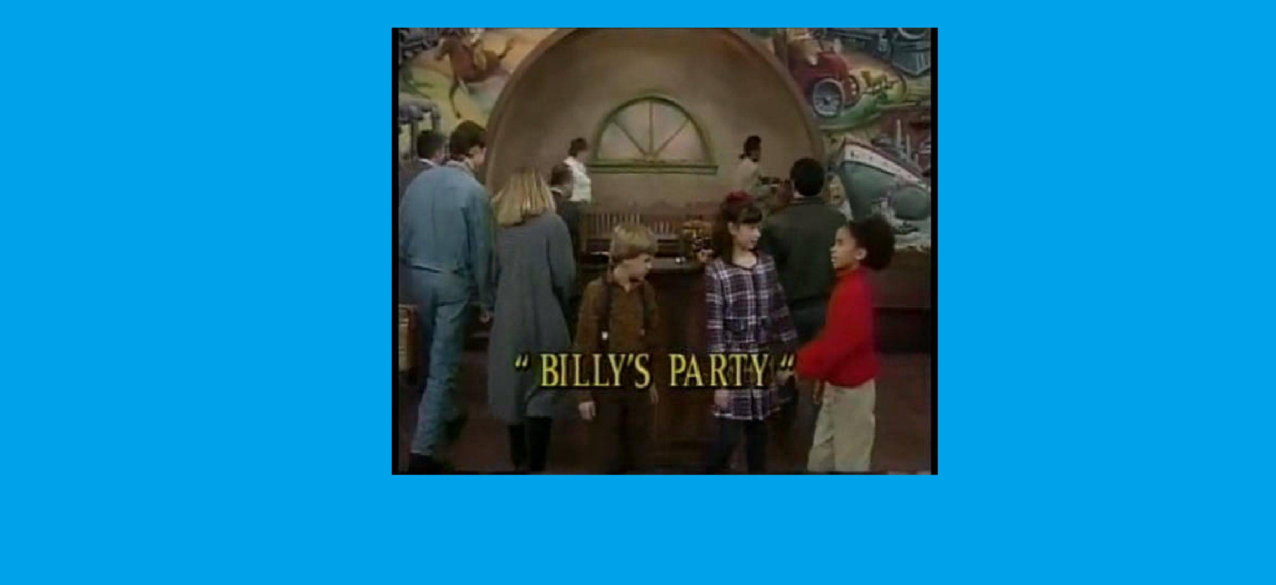 Shining Time Station Images Billy's Party Title Screenshot
