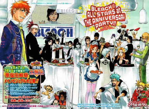 Bleach Manga Art