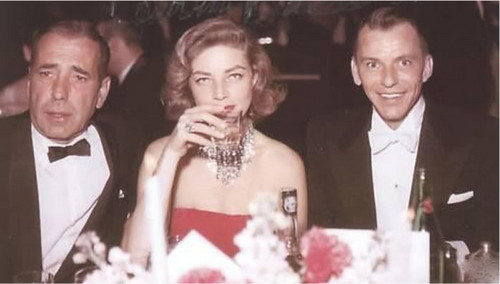 Classic Movies wallpaper called Bogie, Bacall & Sinatra