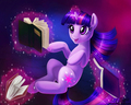 Books are magic - my-little-pony-friendship-is-magic-twilight-sparke fan art