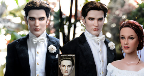 Breaking Dawn Edward Doll Repaint