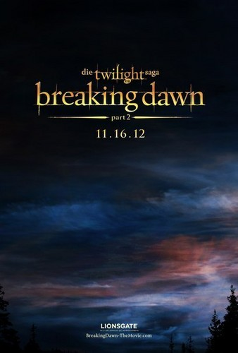 Breaking Dawn Part 2 TEASER poster