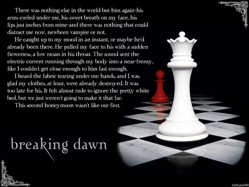 Breaking Dawn উদ্ধৃতি