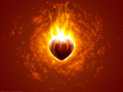 Micketo images Burning Heart HD wallpaper and background photos