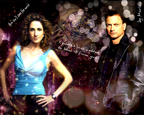 CSI NY ♥ Smacked FOREVER  - mac-and-stella Wallpaper