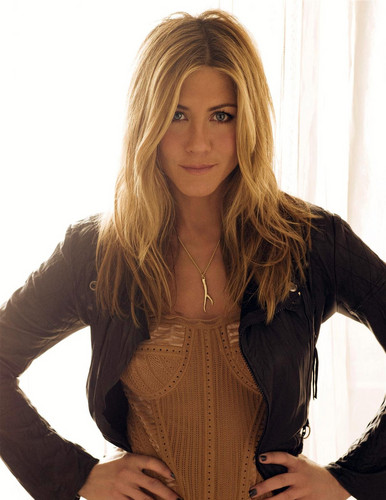 Jennifer Aniston wallpaper possibly containing a playsuit, a bustier, and a blouse titled Carter Smith Photoshoot 2009 for Elle