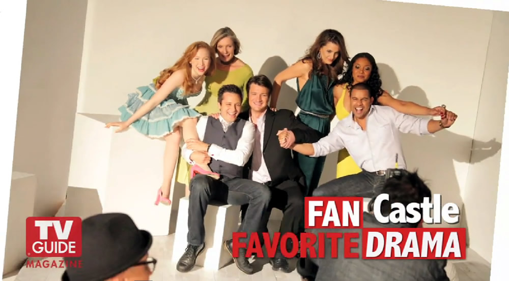 castle tv show cast
