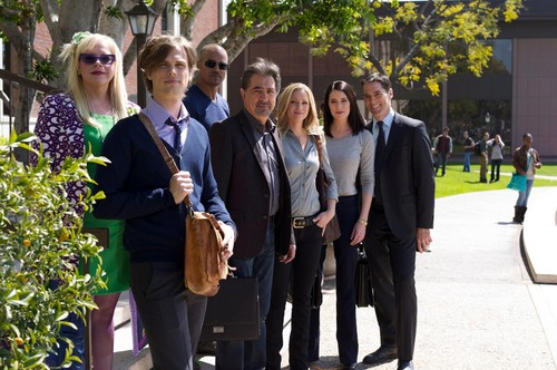 Criminal Minds achtergrond containing a business suit and a straat titled Cast