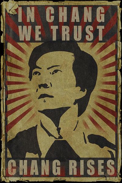 Chang rises