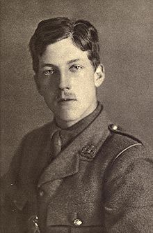 Charles Hamilton Sorley (19 May 1895 – 13 October 1915)