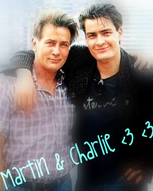 Charlie and Martin :D