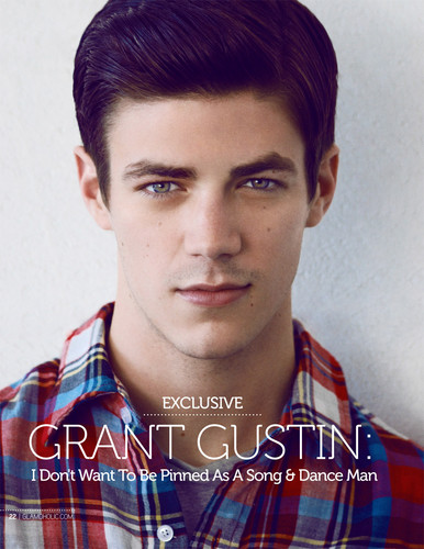 Grant Gustin Wallpaper Possibly With A Portrait Called Chris Colfer
