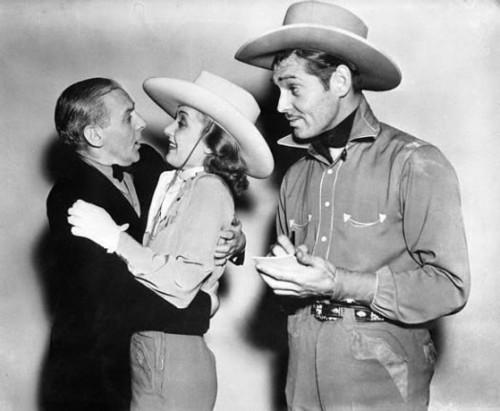 Clark Gable, Carole Lombard & Walter Winchell