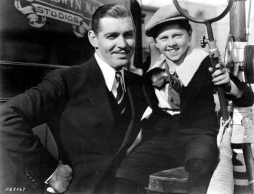 Clark Gable & Mickey Rooney