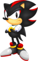Classic Shadow - shadow-the-hedgehog fan art