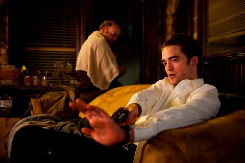 Robert Pattinson wallpaper probably with a brasserie entitled Cosmopolis-movie-stillHQ