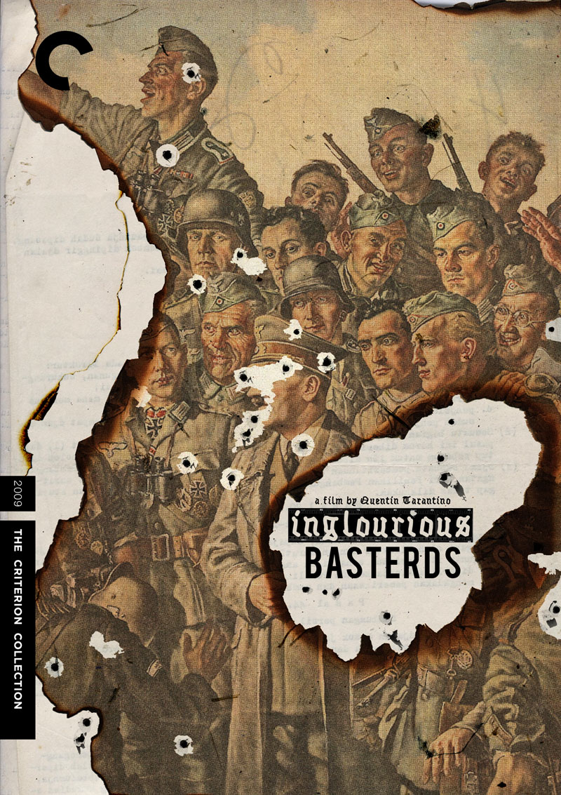 """Criterion Cover for Quentin Tarantino's """"Inglourious Basterds"""""""