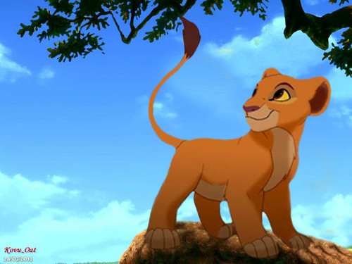 Cute Young Kiara Cub wallpaper Lion King