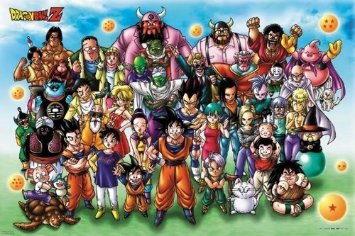 Dragon Ball Z wallpaper containing anime called DBZ family