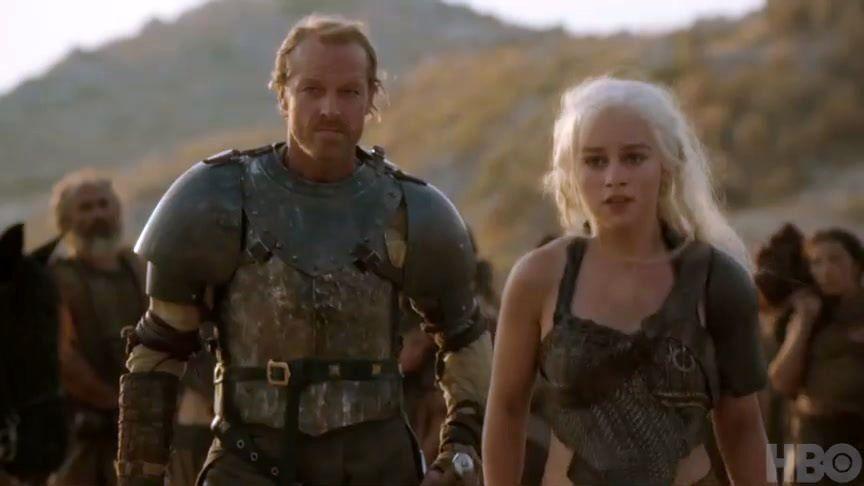 Daenerys and Jorah - Jorah & Daenerys Photo (29917080) - Fanpop