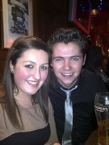 Damian back home with his cousins - New Years 2012 - damian-mcginty Photo