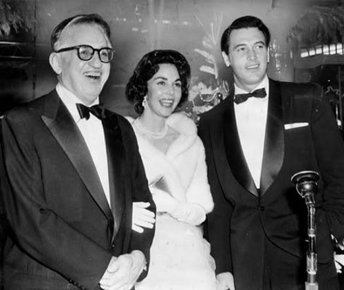 David O. Selnick, Jennifer Jones & Rock Hudson