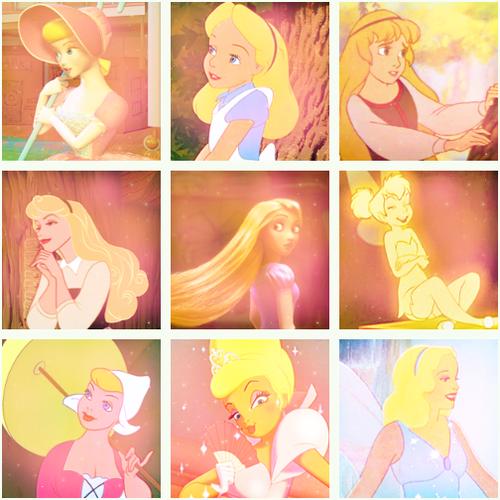 迪士尼 blondes