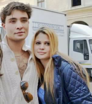 Ed westwick in Mantova (Italy)