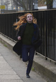 Elle Fanning filming 'Bomb' in London - elle-fanning photo