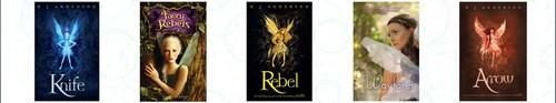 Faery Rebels पुस्तकें