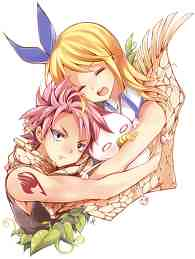 Fairy Tail ~Natsu Dragneel and Lucy Heartfilia (Lovers Hug)