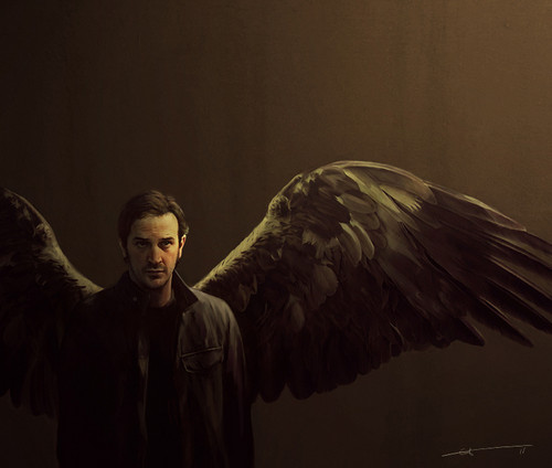 Supernatural wallpaper titled Gabriel