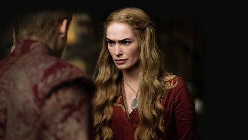 Game Of Thrones Season 2 Production Still: Cersei & Joffrey