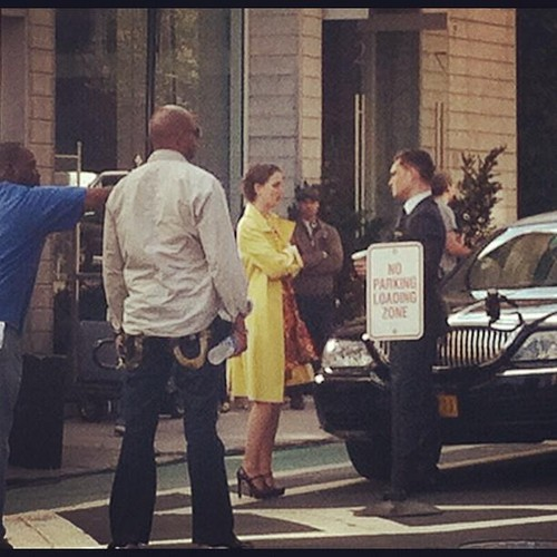 Gossip Girl Set - March 20, 2012